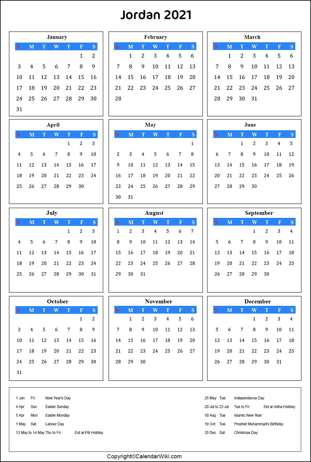 jordan calendar 2021