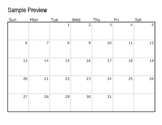 printable calendar templates, blank calendar printable