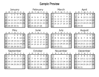 Print the calendar, printable calendar templates